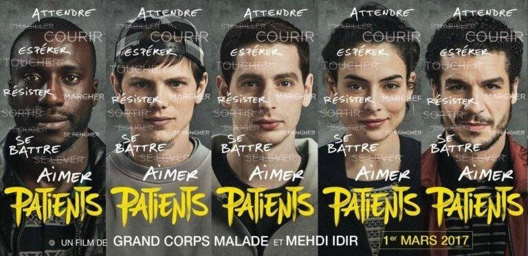 Le film du mois : Patients de Grand Corps Malade et de Mehdi Idir