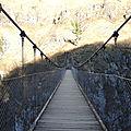Gorges d'Holzarté, la passerelle, sur la passerelle