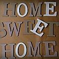Home sweet home...