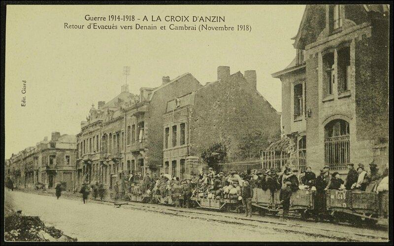 croix anzin 1918