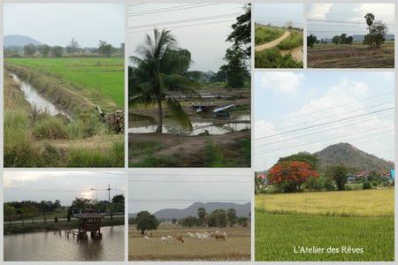 voyage en train Physanulok - Thaïlande Avril 20121