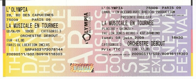 2009 06 Placebo Olympia Billet