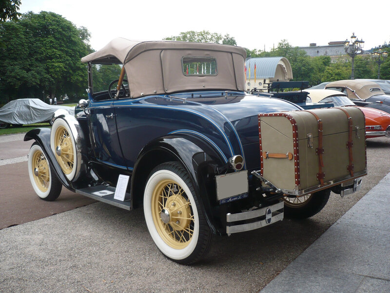 FORD Model A Deluxe roadster 1930 Baden Baden (2)