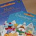 C'est bientôt noël ! un joli coffret livre + puzzle et un calendrier