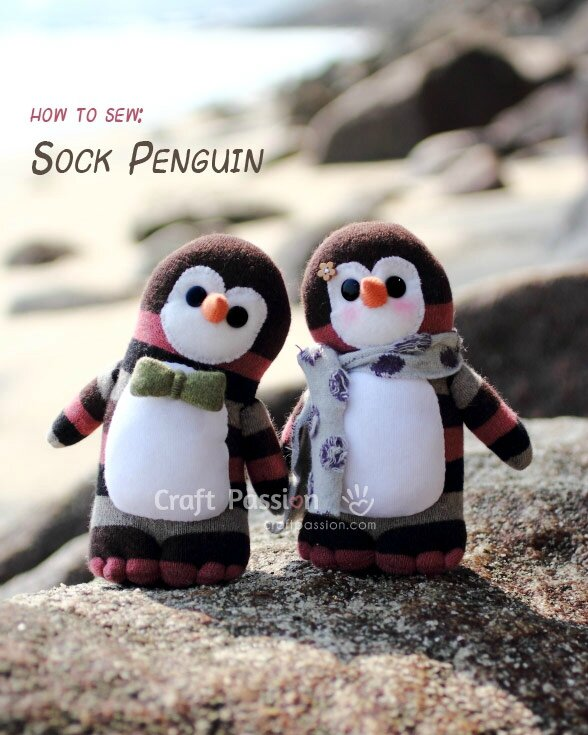 DIY-Sock-Penguin-and-Free-Pattern
