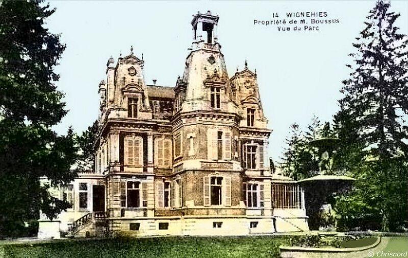 WIGNEHIES - Château Boussus