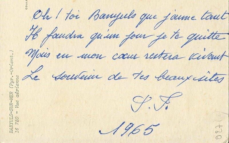 027 Poème de Mémé et Villa St Jean'