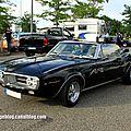 Pontiac firebird convertible de 1967 (Rencard Burger King juillet 2012) 01