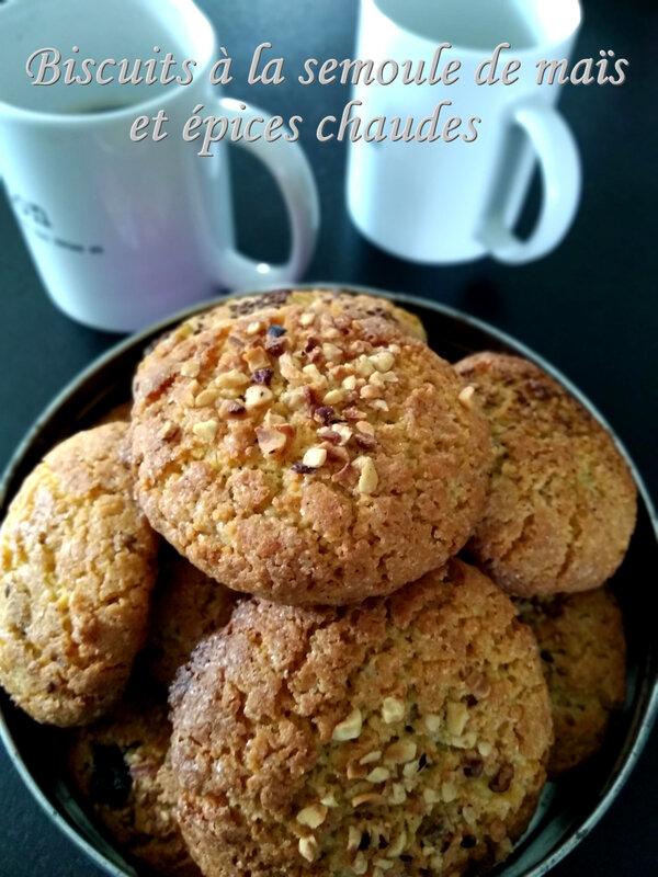 Biscuits à la semoule de maïs et épices chaudes1