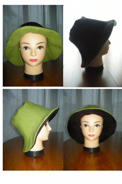 chapeau réversibble