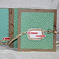 7 - Mini album scrapbooking katia nesiris démonstratrice Stampin'up