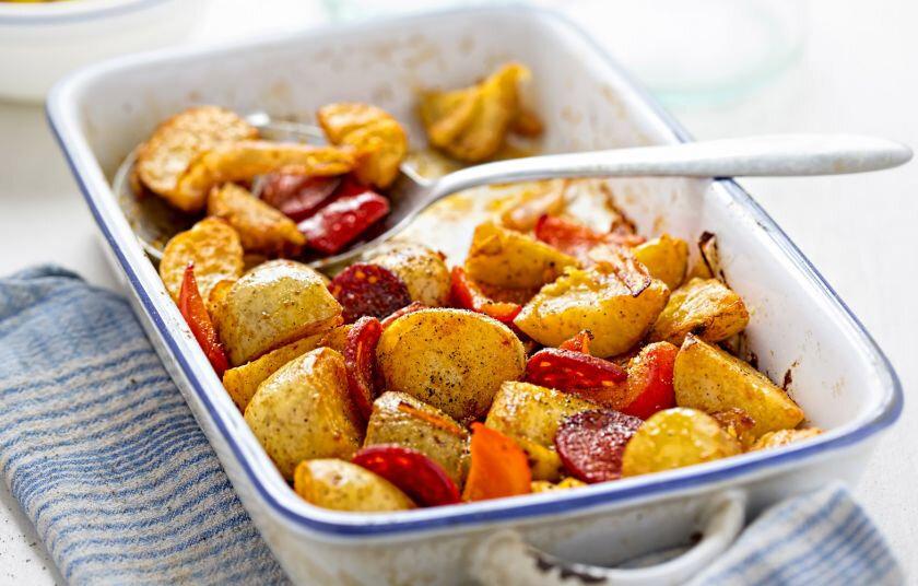 Les patates de la cantine
