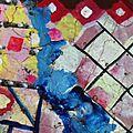 Hervé THAREL SCHMIMBLOCK'S écu 2013 - diamètre 35cm détail 4