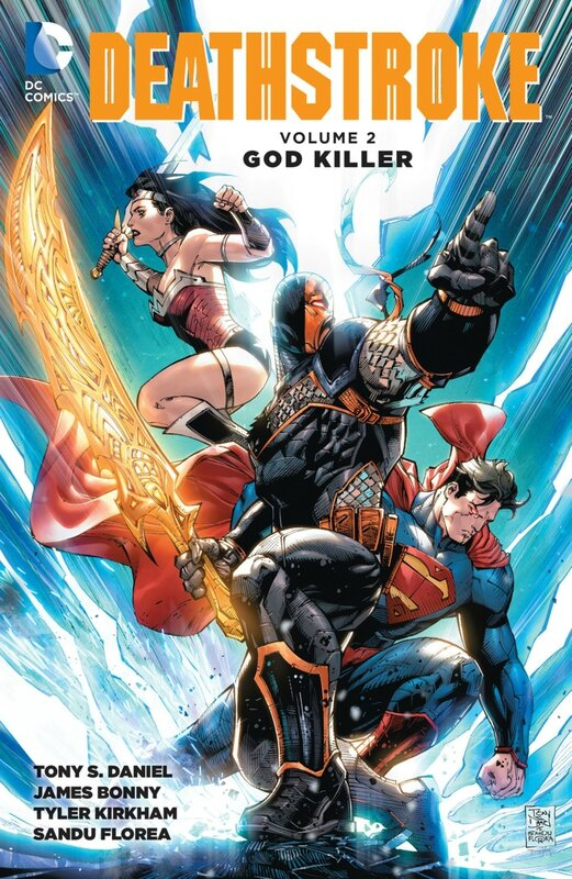new 52 deathstroke vol 2 god killer TP