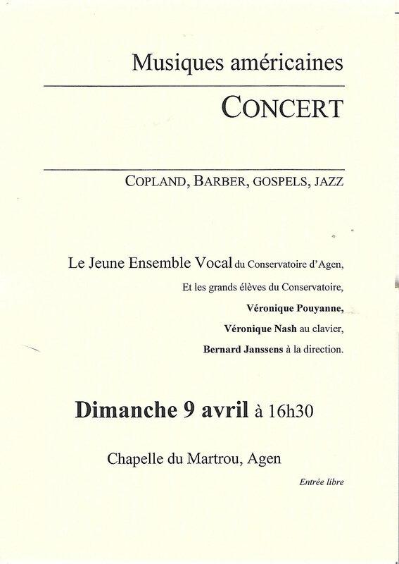 concert 9 avril