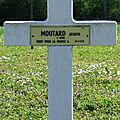 Moutard joseph ernest marie (sainte-sévère-sur-indre) + 29/09/1918 cernay (51)