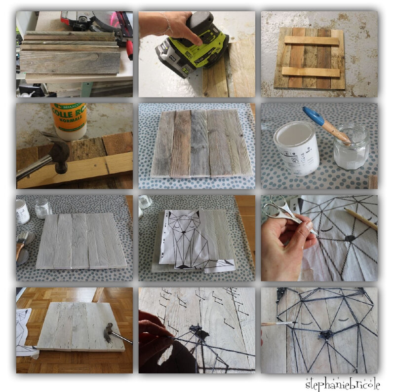 diy origami palette
