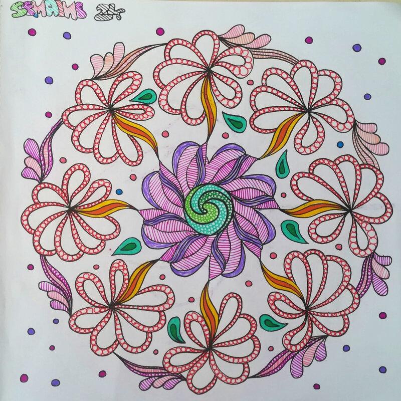 Semaine 24 coloriage