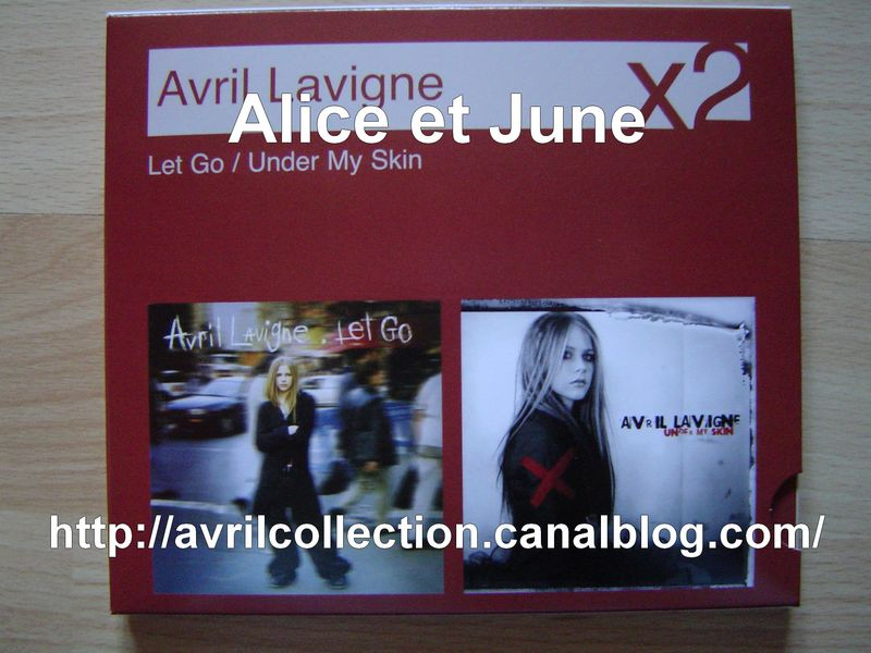 CD Coffret Let Go-Under My Skin-Europe (2007)