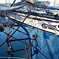 Dans le port de paimpol (côtes d'armor) le 8 avril 2004