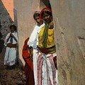 des femmes mauresques au Kasbah en 1890