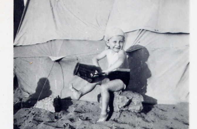 1943 moi plage Rabat