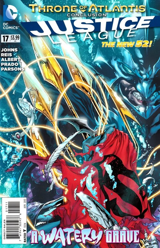 new 52 justice league 17