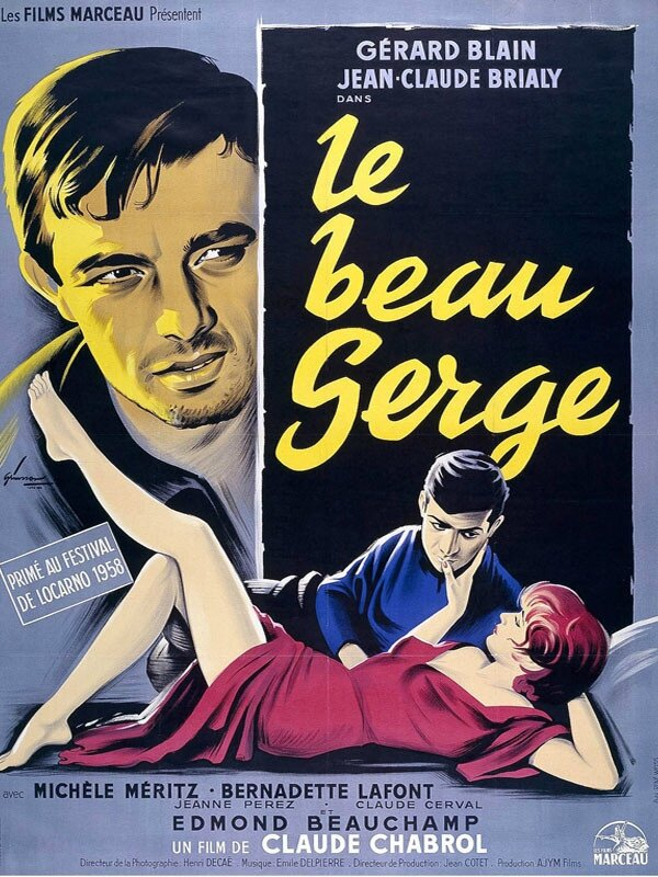 Affiche Le beau Serge 1958 Claude Chabrol