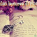 Bilan lecture juin 2012