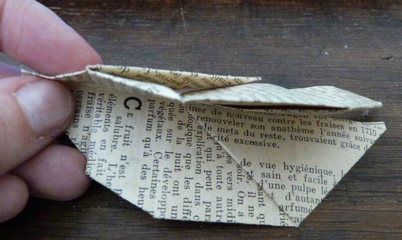 Tuto lapin origami papier ancien (19)