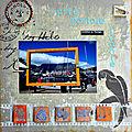 Carte postale vivante