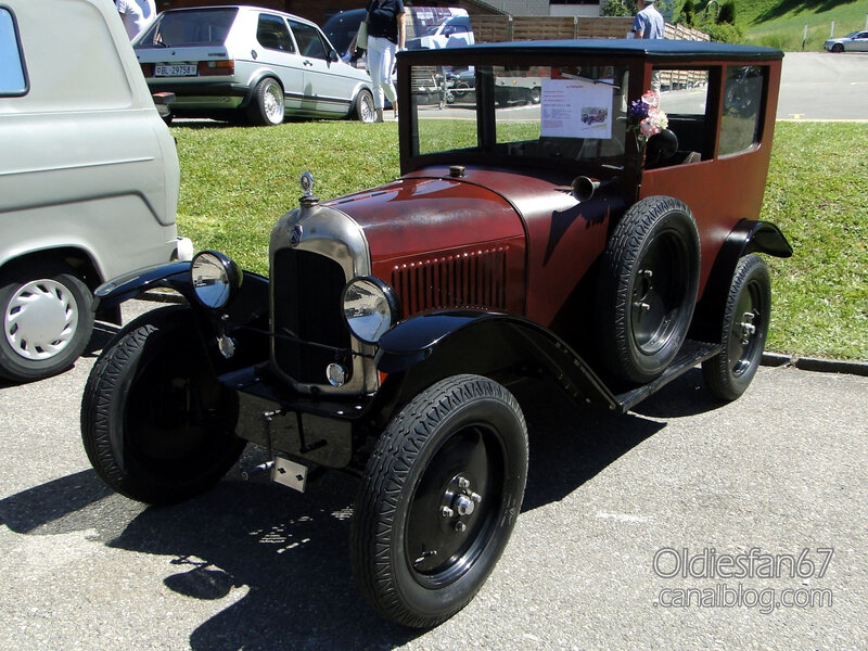 Citroën C3 5HP Trèfle berline Weymann-1924-01
