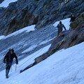 En difficulté sur la glace sous Chasseforêt (2007)