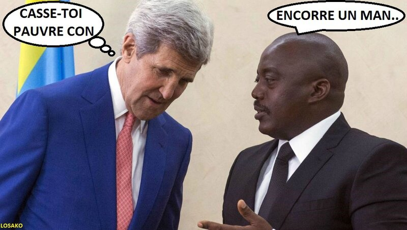 Jhon Kerry et Joseph Kabila