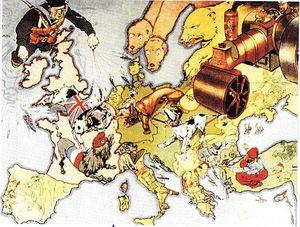 carte WW1