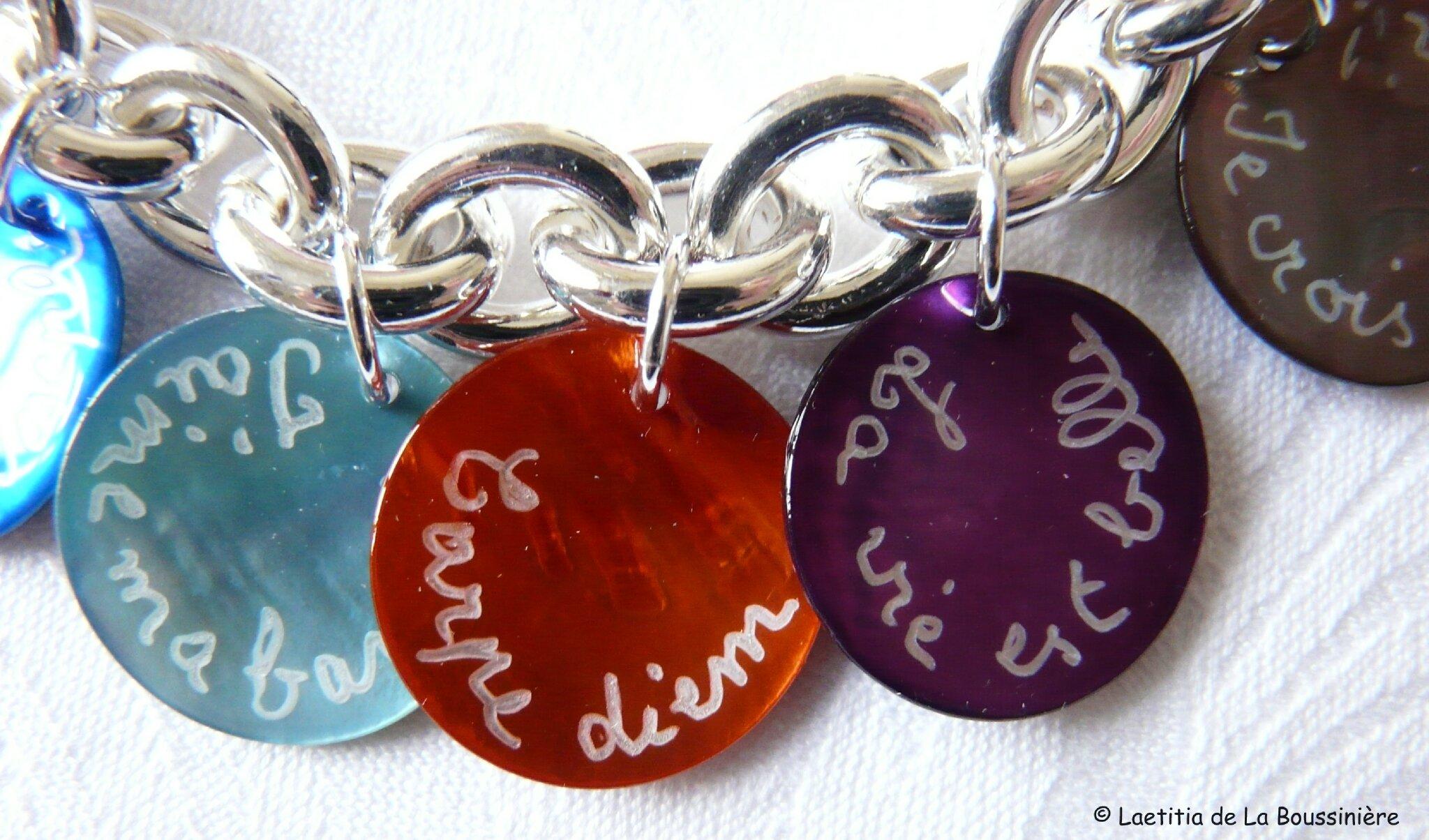 Bracelet Mots doux (3)