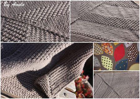 Textured Shawl Montage