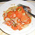 Jarret de porc et sa sauce vinaigrette aux échalotes et à la moutarde