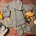 Layette pour isaac