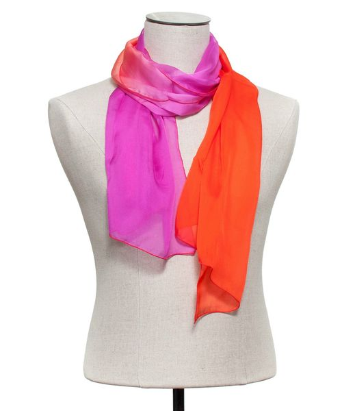 Foulard flashy orange