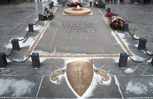 Tombe du soldat inconnu - Paris