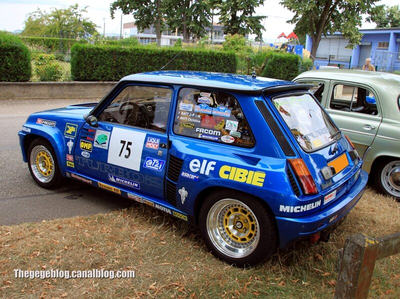 Renault 5 turbo 2 (Retrorencard aout 2013) 02