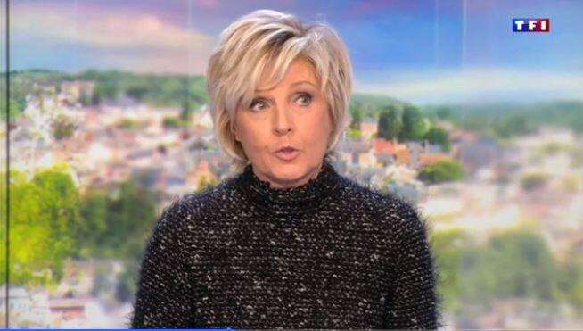Evelyne Dhéliat 30006 Me 03 01 18 Vidéo TF1 JT 13H00