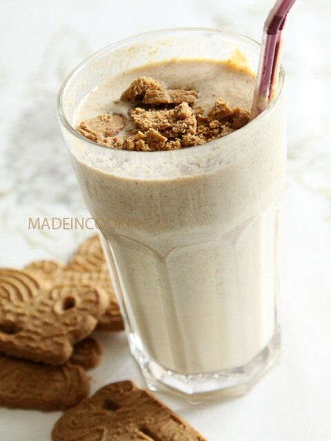 Milk Shake Vanille Spéculoos Made In Cooking