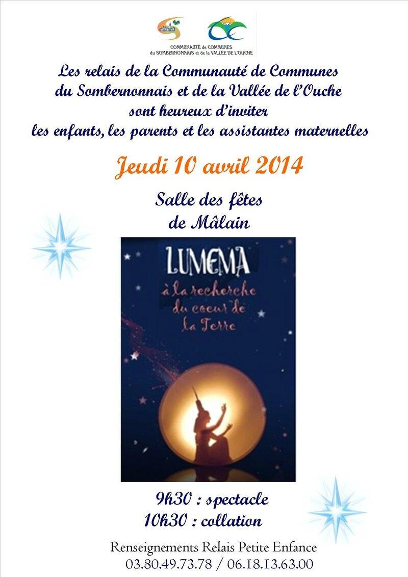 Invitation Lumema-Mâlain