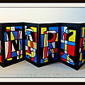 Accordeon mondrian