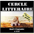 Cercle littéraire 11 septembre 2018