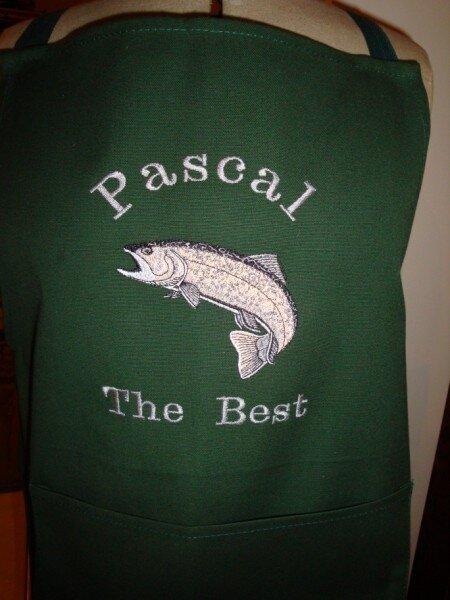Tablier Pêche