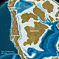 North America 92 million years ago