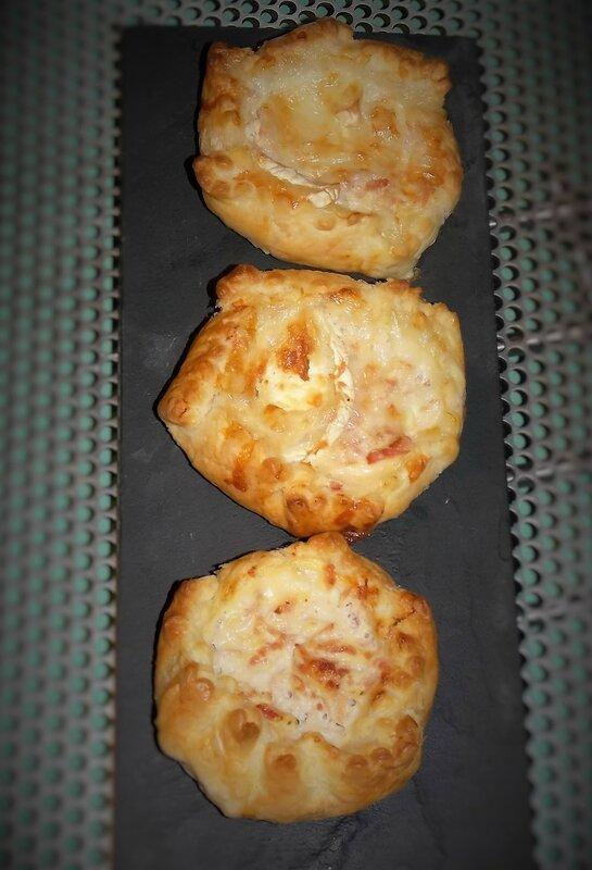feuilletés jambon